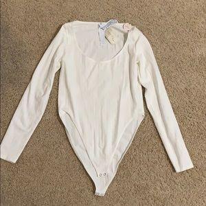 Forever 21 white bodysuit